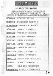 Paquetería Febrero 2019